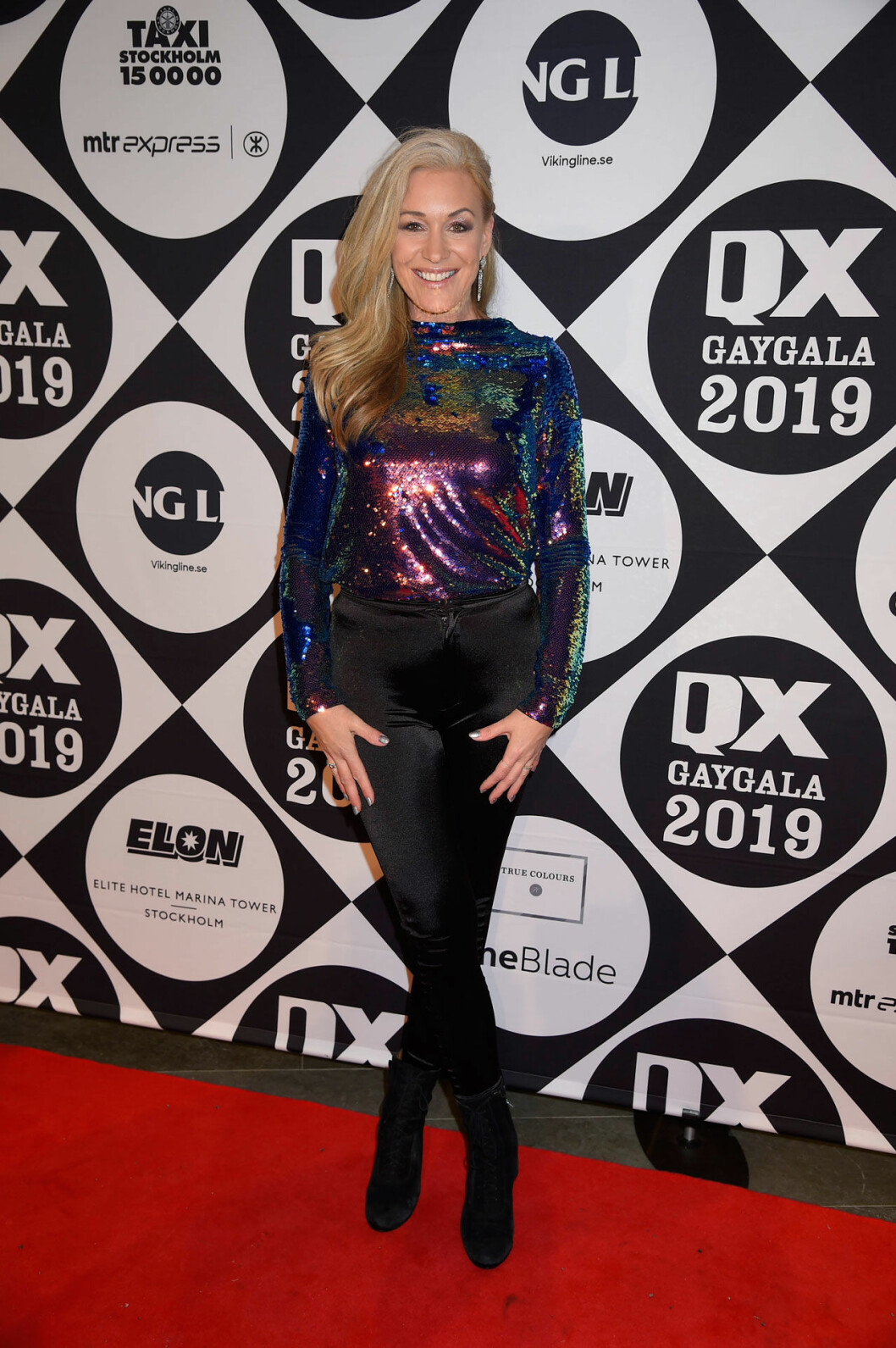 Jessica Andersson på QX-galan 2019