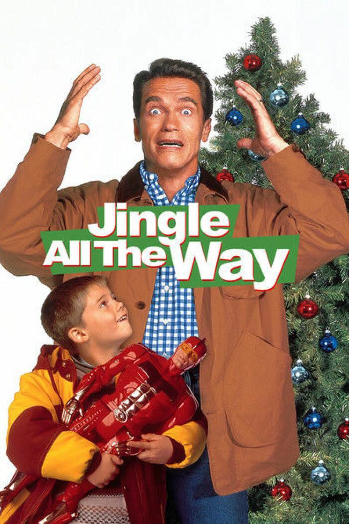 Arnold Schwarzenegger i julfilmen Klappjakten