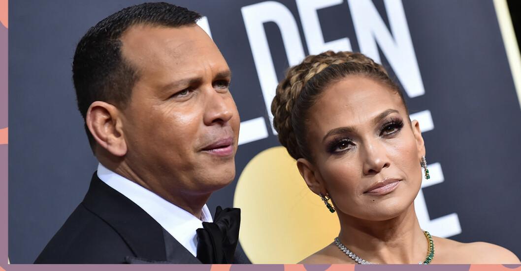 Det spekuleras i hur relationen mellan Alexander Rodriguez och Jennifer Lopez ser ut.