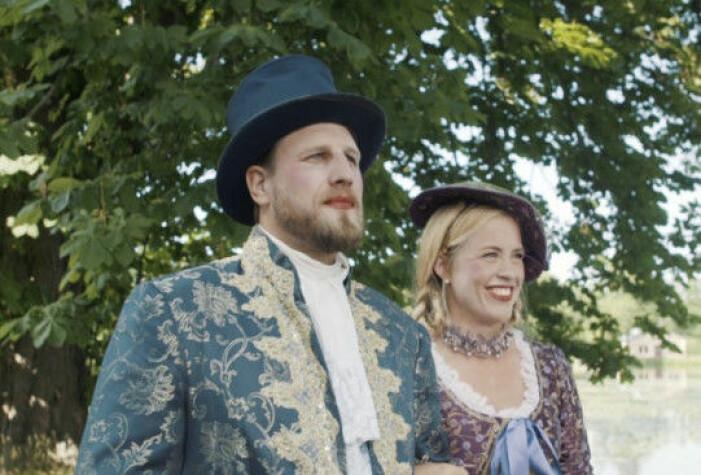 Susanna Lundberg och Johan Skantz i Gift vid första ögonkastet