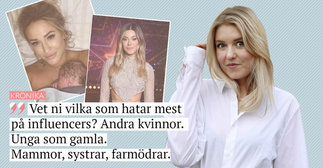 Johanna Bladh krönika om influencers Bianca Ingrosso Jannike Nordström