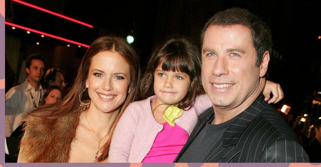 Bilden på Ella Bleu Travolta visar likheten med mamma Kelly Preston