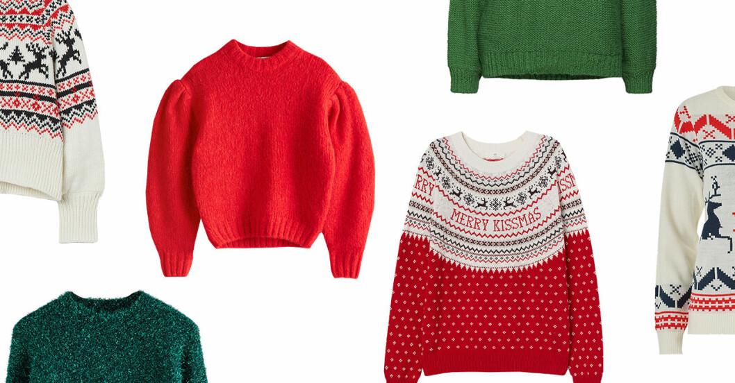 Snygga jultröjor för dam till 2019