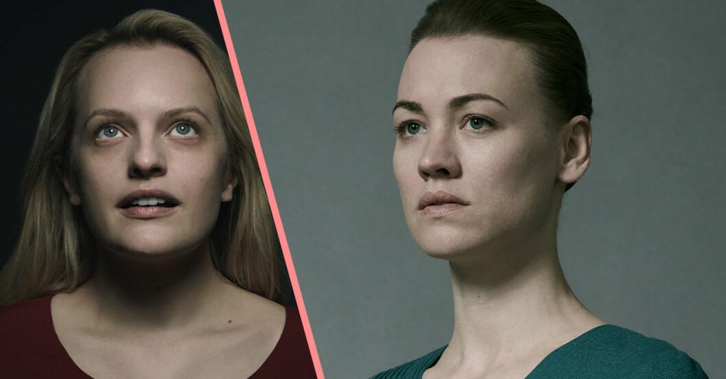 June och Serena Waterford i The Handmaids Tale säsong 4.