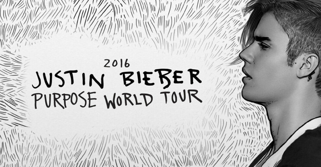 justin bieber konsert 2016 biljetter