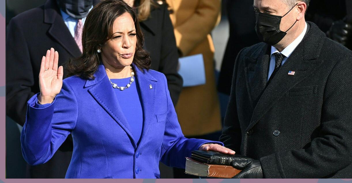 Kamala Harris är USA:s nya vicepresident.