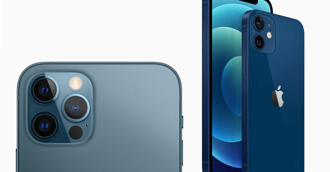 Iphone 12 och 12 pro