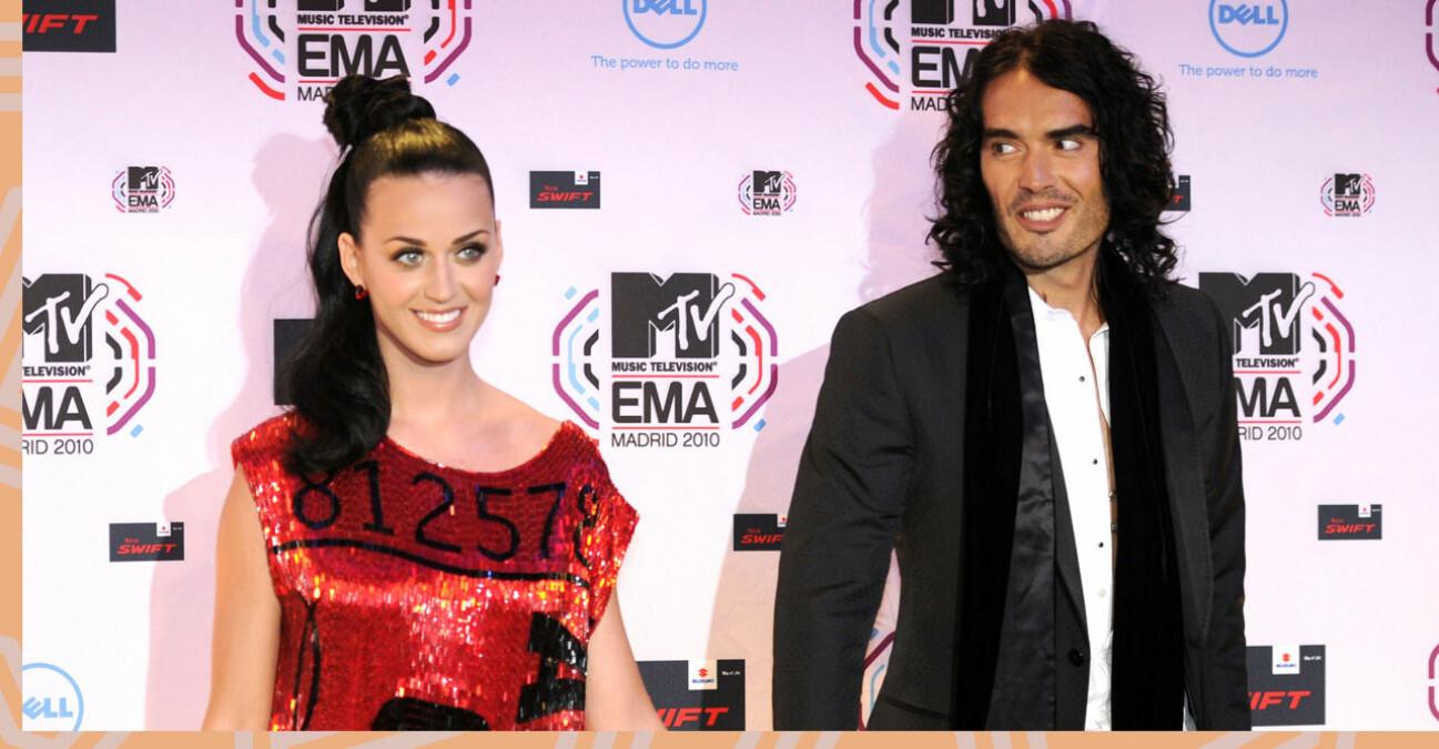 Katy Perry och Russell Brand