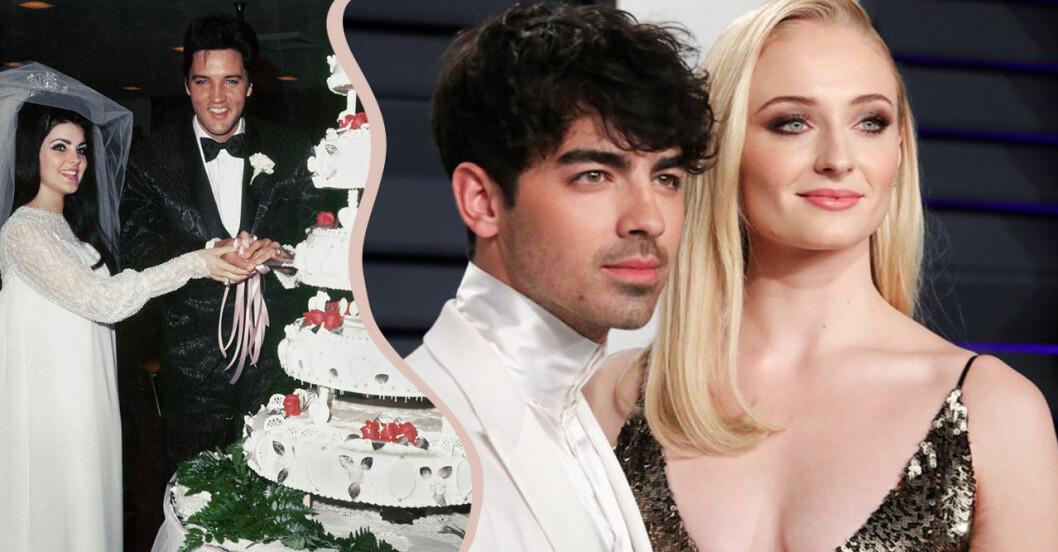 Joe Jonas och Sophie Turner och Elvis och Priscilla