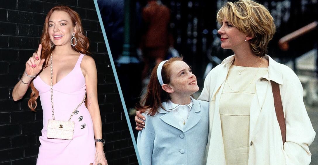 Lindsay Lohan och Natasha Richardson i Föräldrafällan