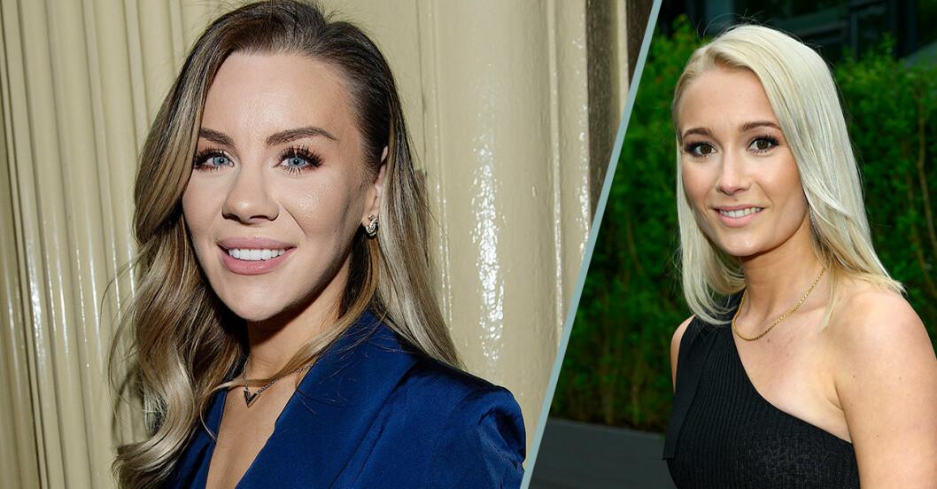 Therese Lindgren och Ellen Bergström