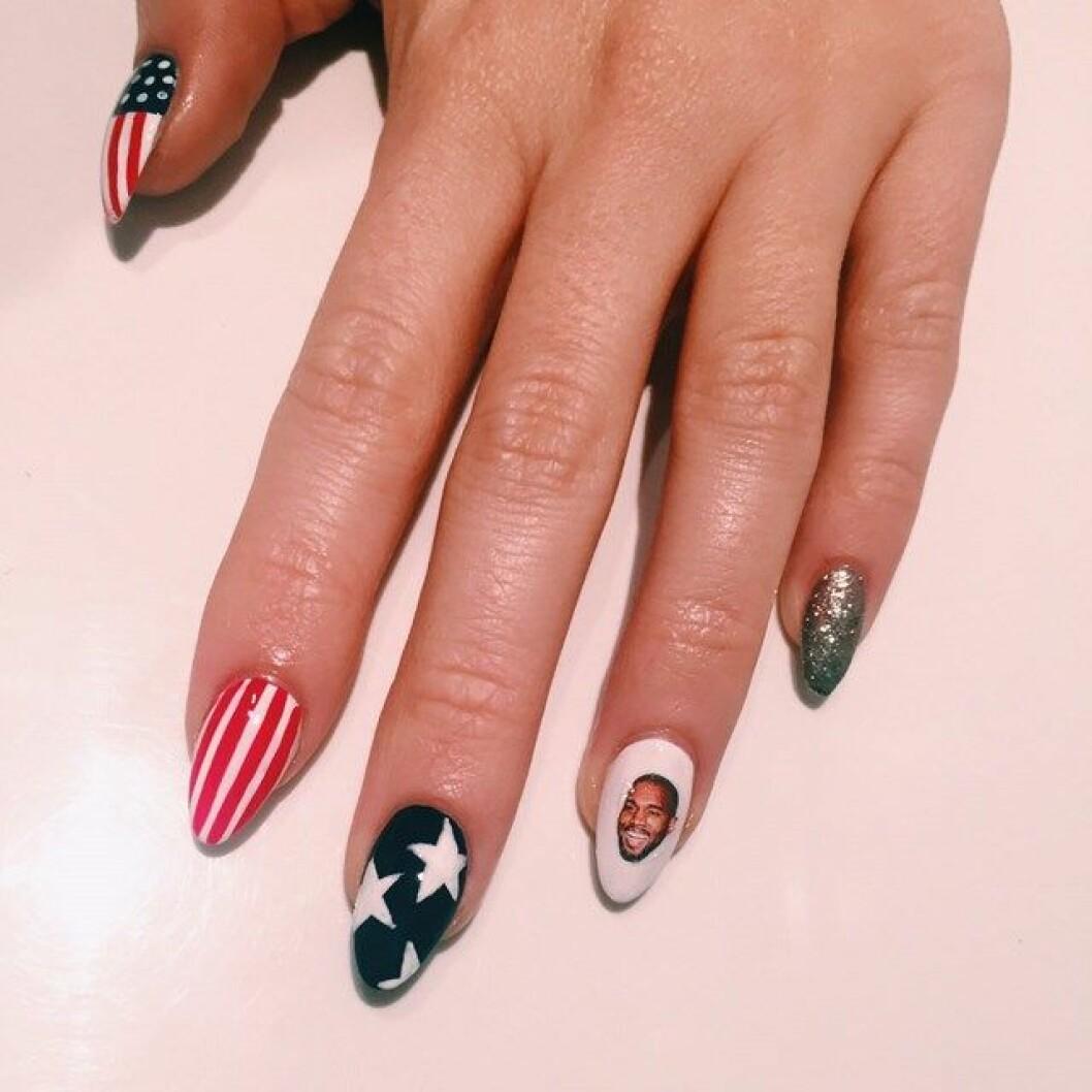 kanye for president nails