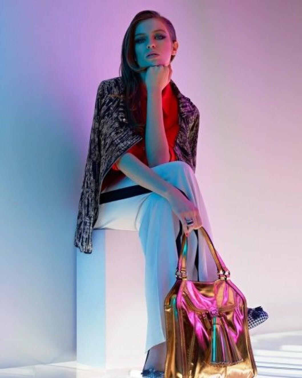 Tali Lennox for Karen Millen, S/S 2012.