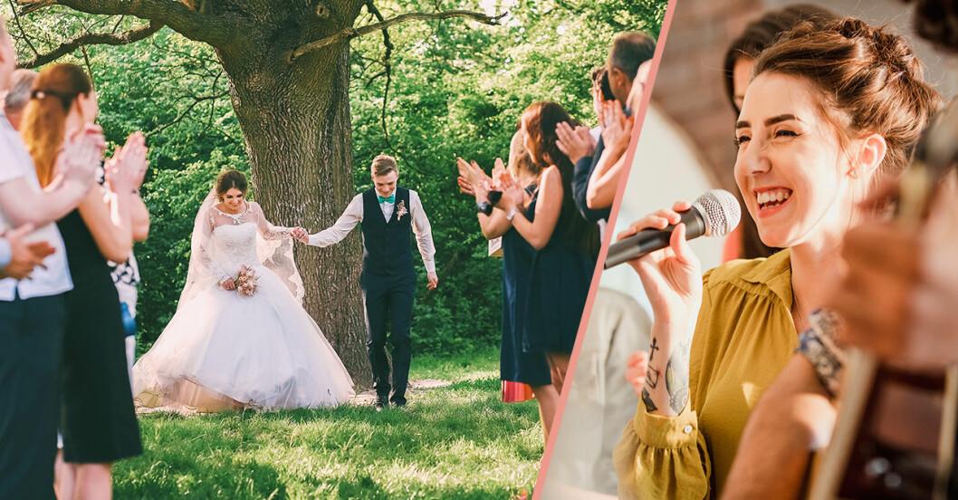 100 kärlekslåtar till bröllop –på svenska och engelska