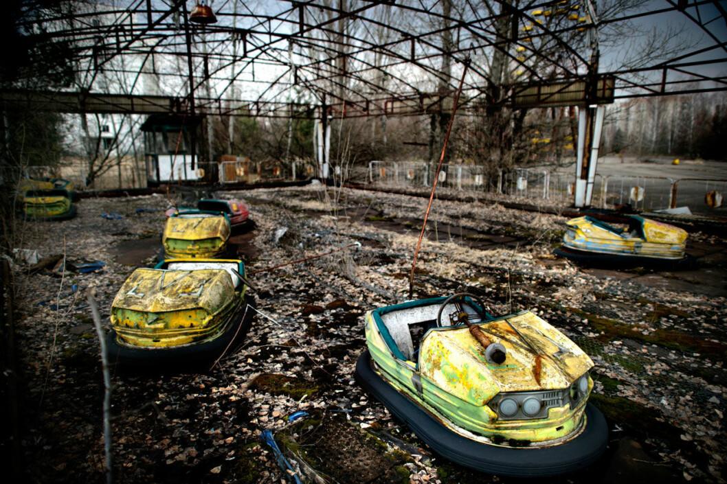 Karuseller i Tjernobyl