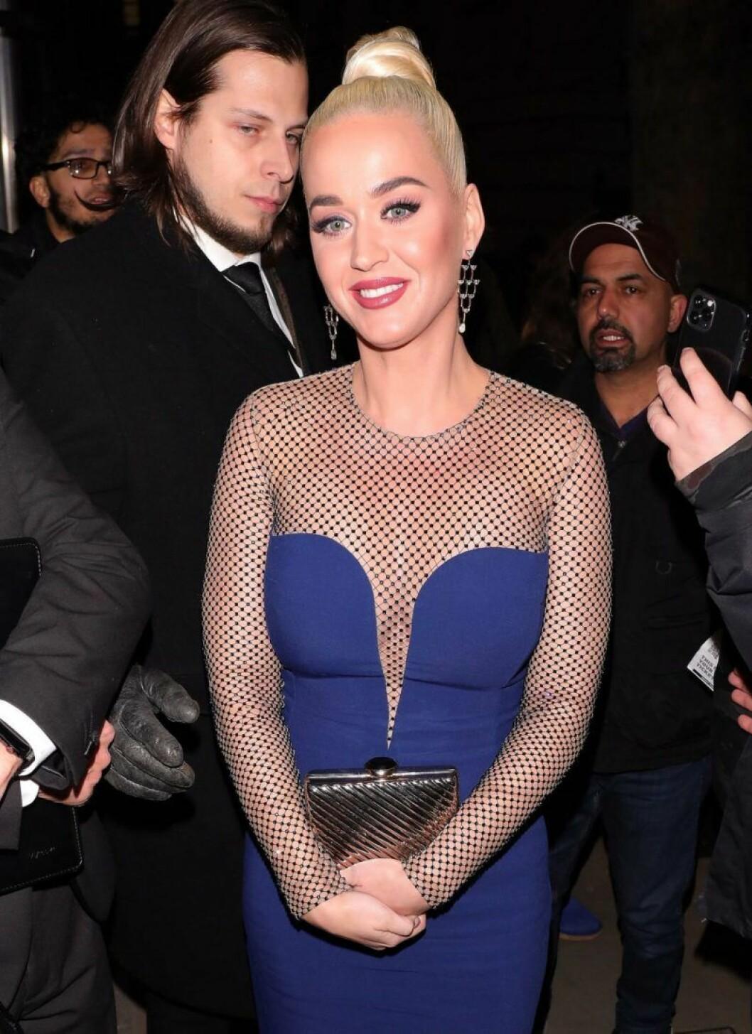 Katy Perry i London.