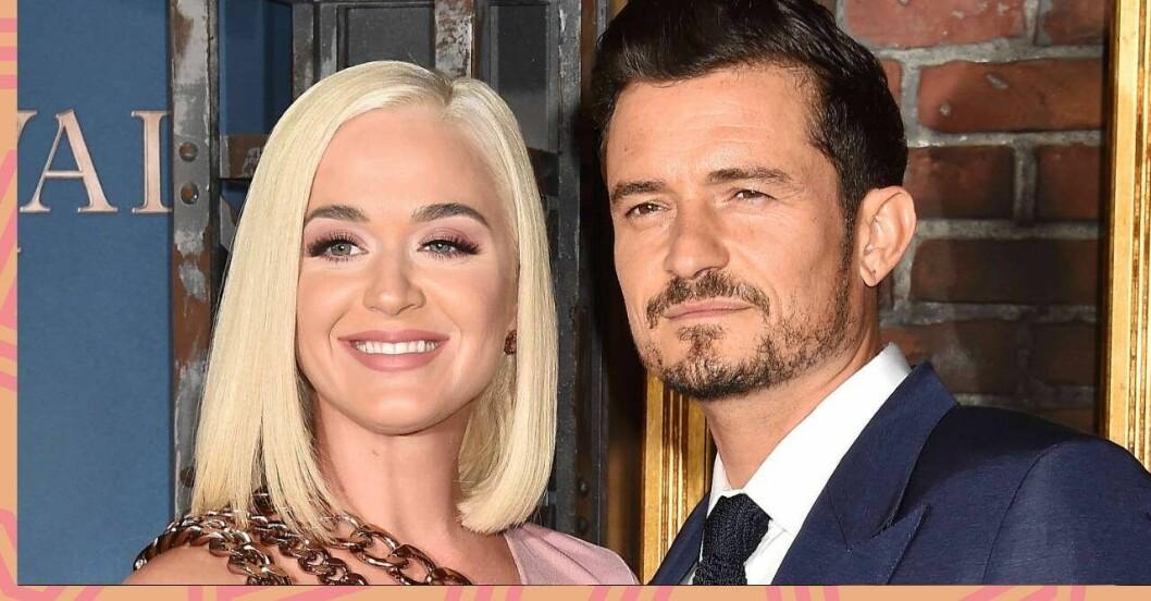 Katy Perry och Orlando Bloom är glada