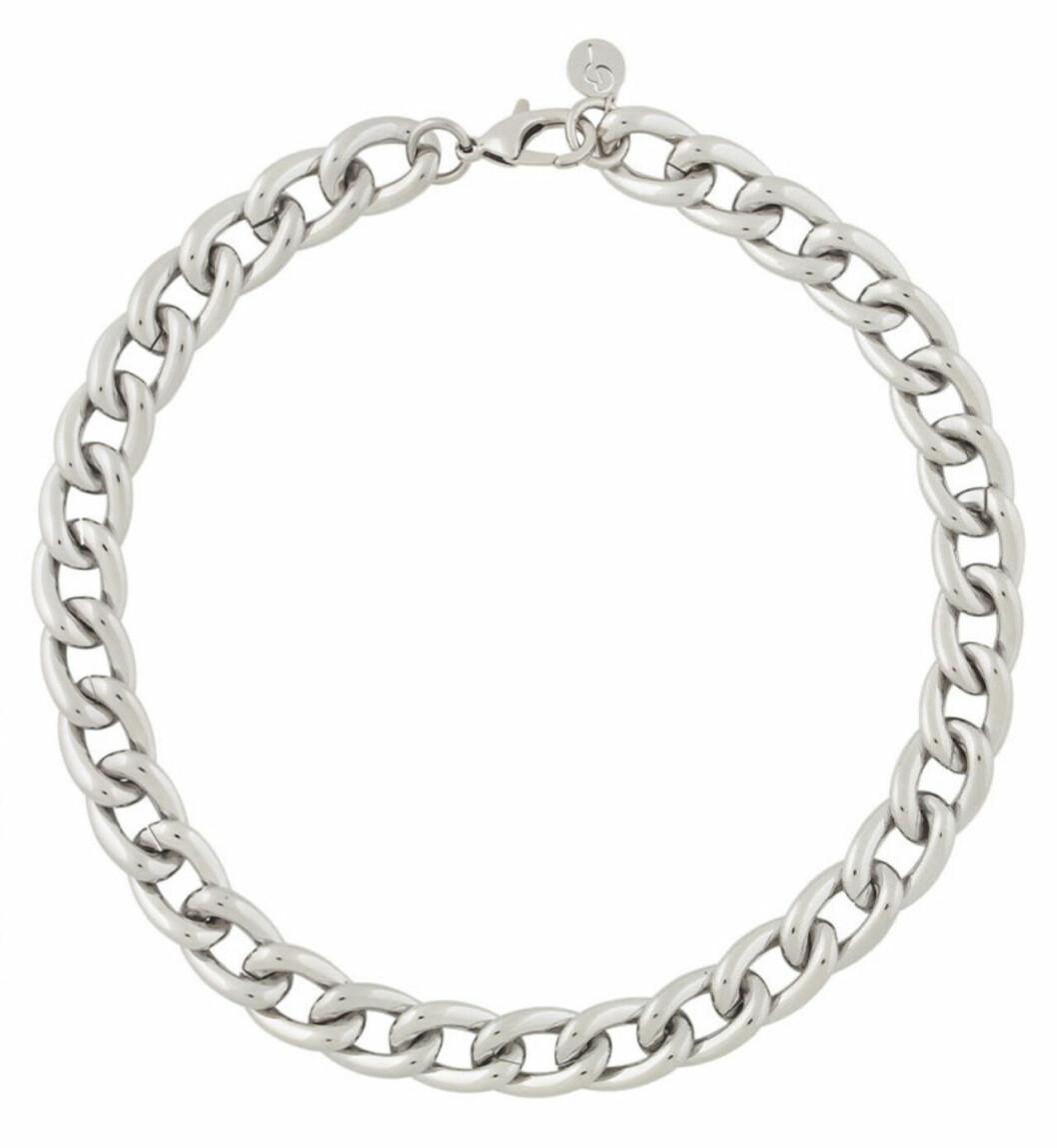 Kedjehalsband i silverfärg från Edblad