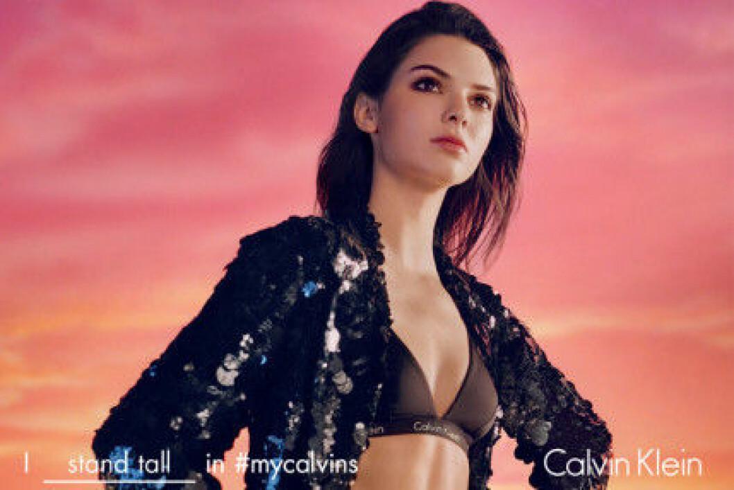 Kendall Jenner är ett av ansiktena i Calvin Kleins vårkampanj.