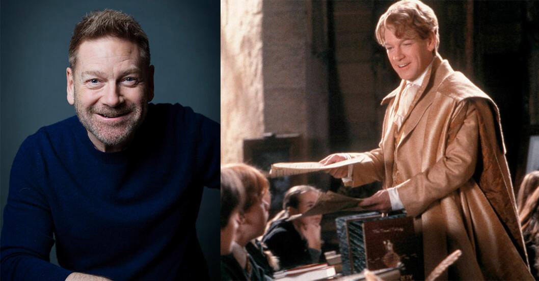 Kenneth Branagh i Harry Potter