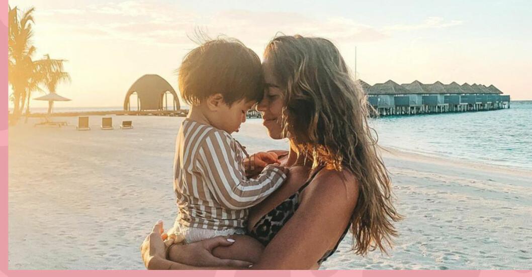 Kenza Zouiten Subosic om negativa kommentarerna om att få en till son