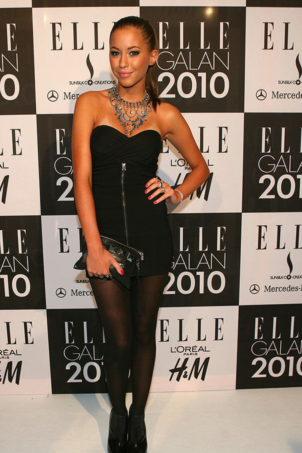 En bild på Kenza Zouiten på ELLE-galan 2010.