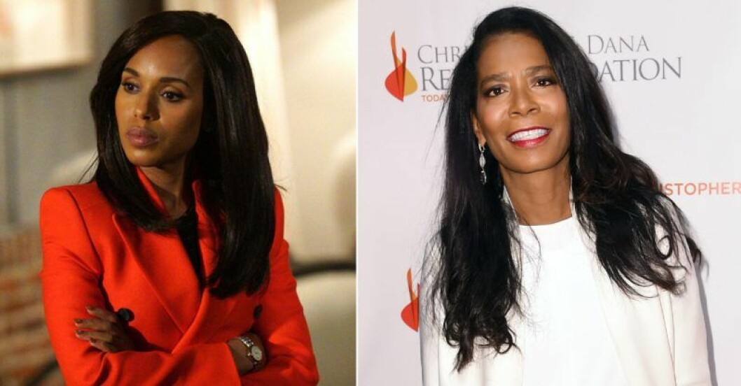 Kerry Washington i Scandals och Judy Smith.