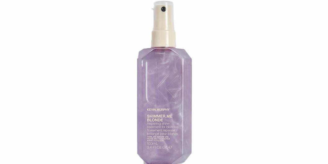 Spray för blont hår för att motverka gula toner