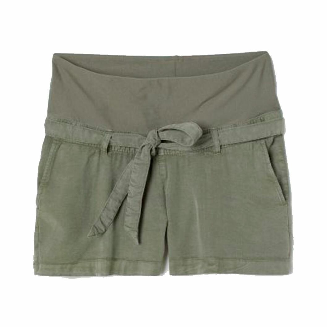 Gröna gravidshorts från H&M