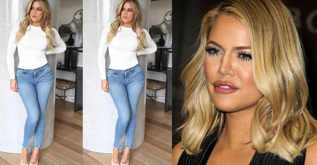 khloe kardashian jeansmärke