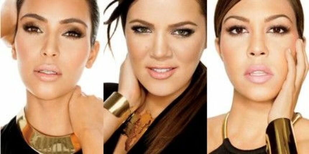 Kim, Khloé och Kourtney Kardashian har lanserat Khroma Beauty.