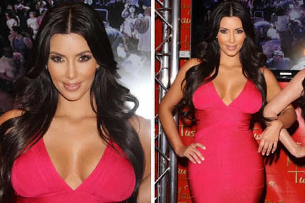 Kim Kardashian vet hur man framhäver formerna.