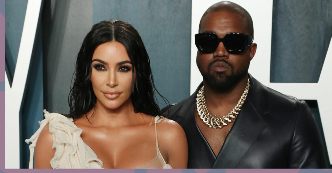 Kim Kardashian skiljer sig från Kanye West
