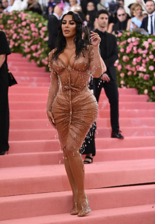 Kim Kardashian på röda mattan