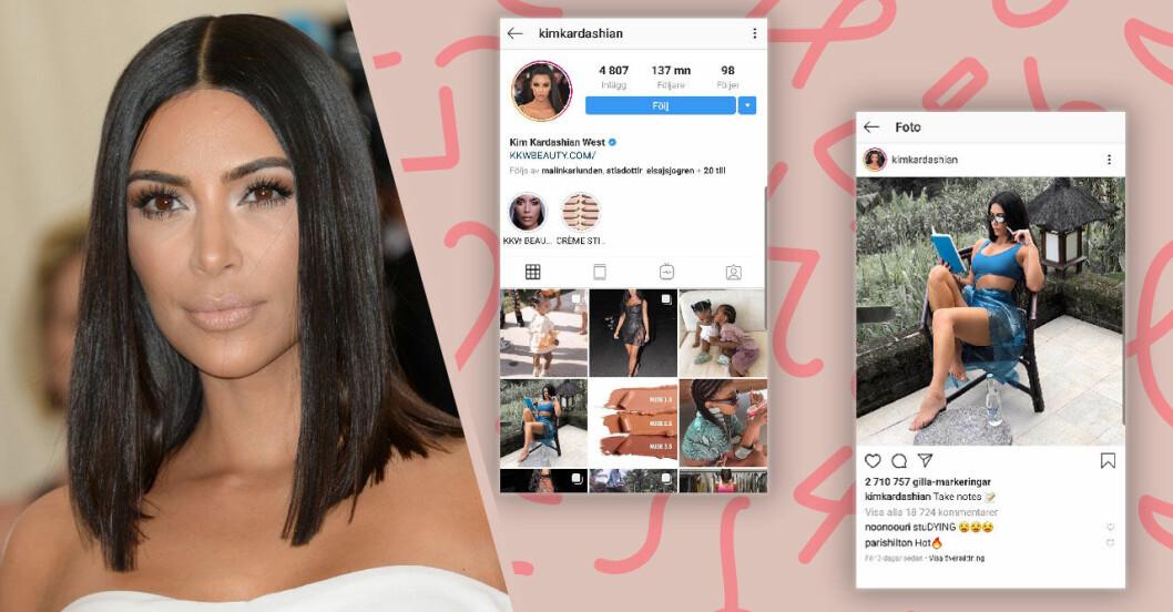 Kim Kardashian tjänar så mycket på ett inlägg på Instagram