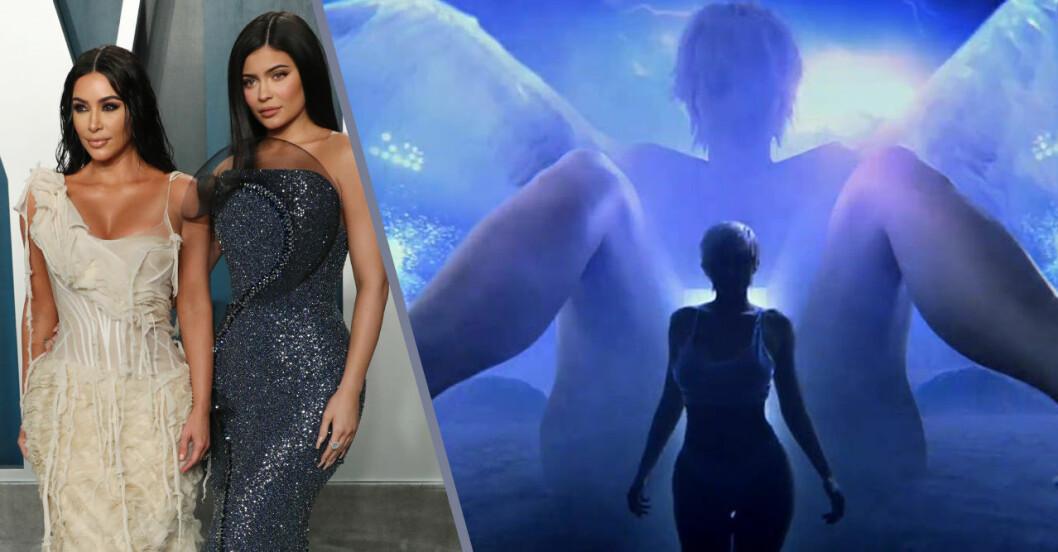 Kim Kardashian föder ut Kylie Jenner