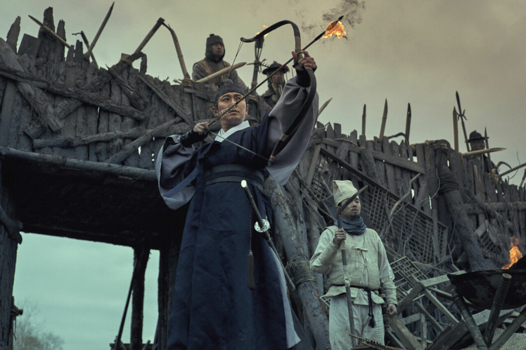 En bild från tv-serien Kingdom på Netflix