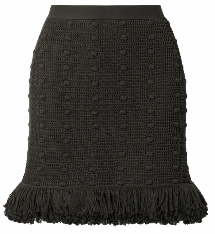 svart kjol från bottega veneta
