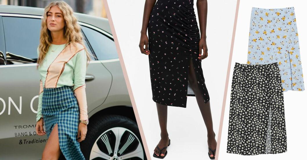 Kjolar med slits för dam till sommaren 2020
