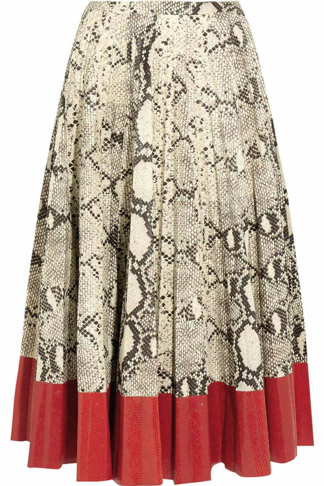 kjol ormskinn