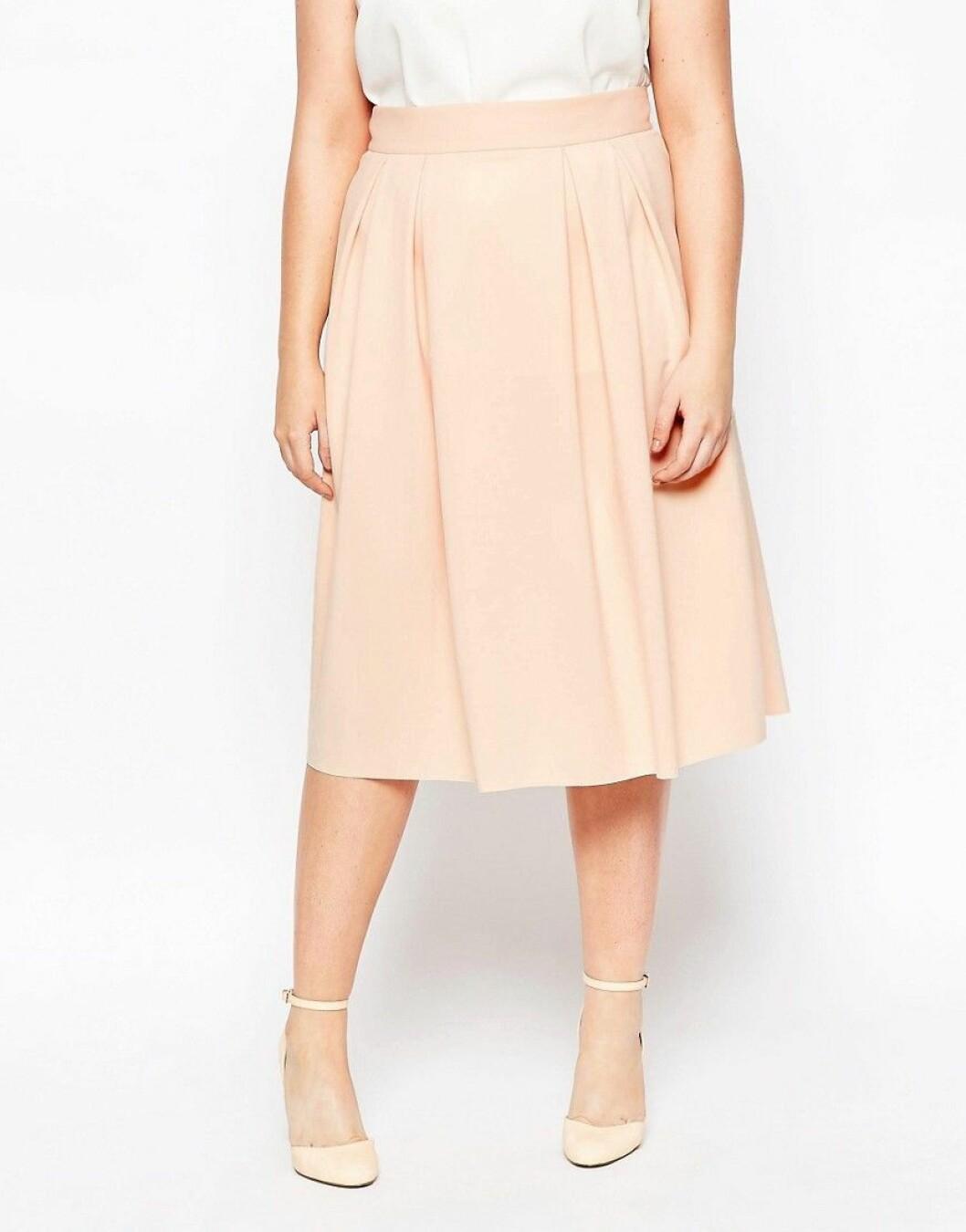 kjol plus size