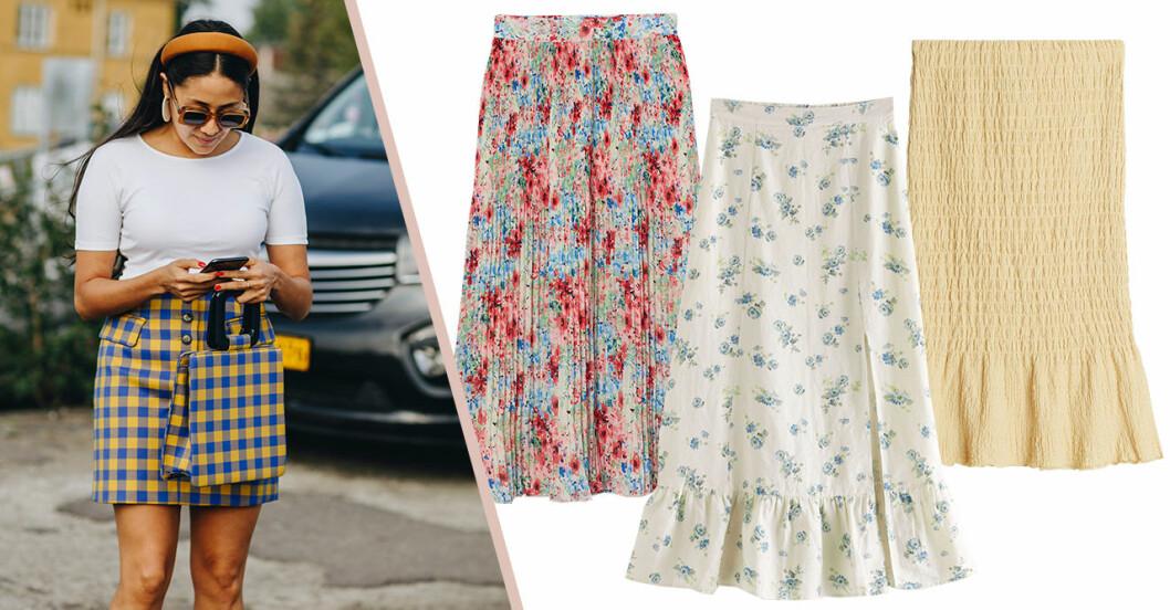 Kjolar för dam till sommaren 2020 –på rea