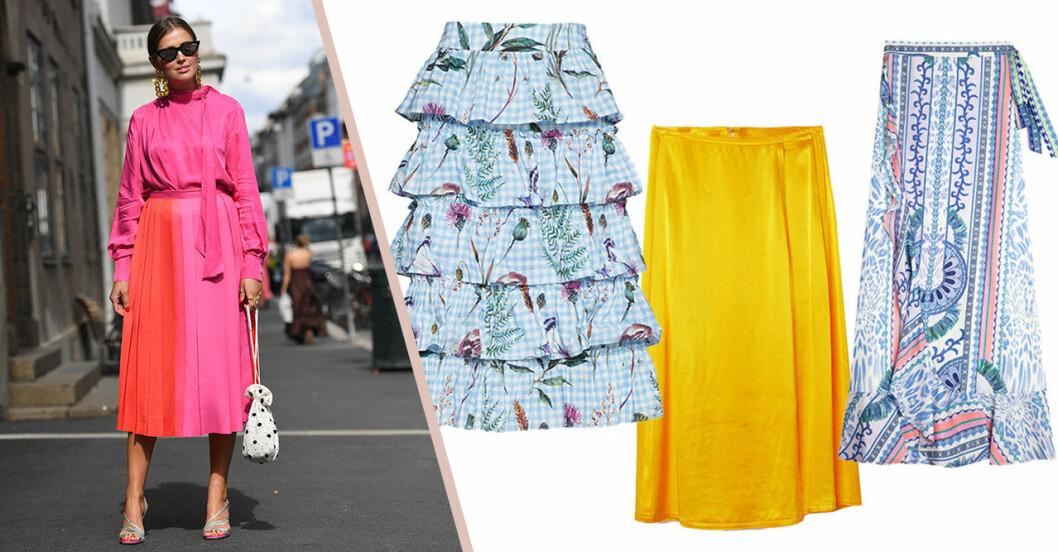 Kjolar på rea till midsommar 2019