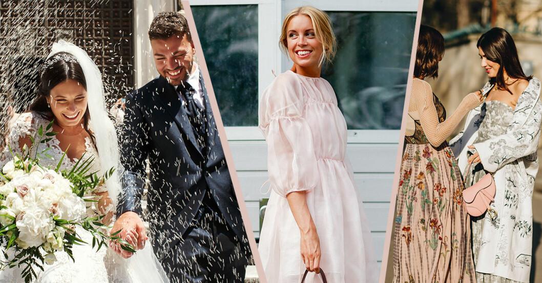 Klädkod på bröllop – kavaj, svart, klänning, byxdress