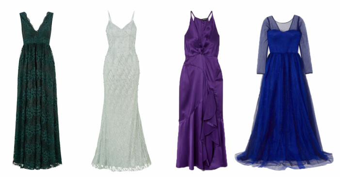 Klädkod frack vinterbröllop klänningar