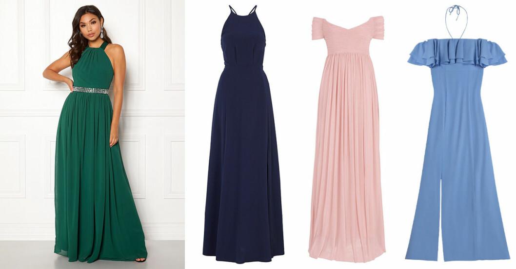 Klädkod smoking bröllop – klänningar