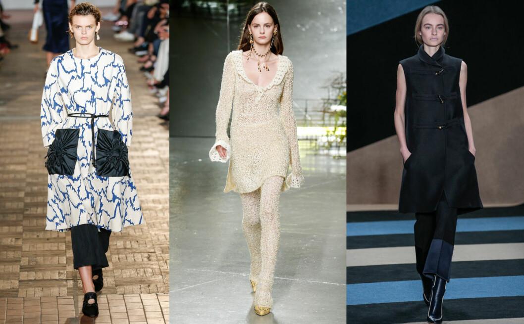 klänning byxor vårens trender 2017