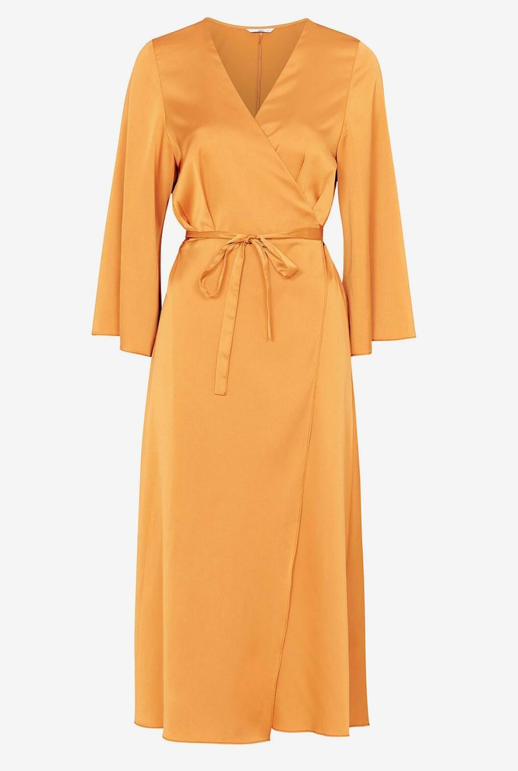 Gul klänning till hösten