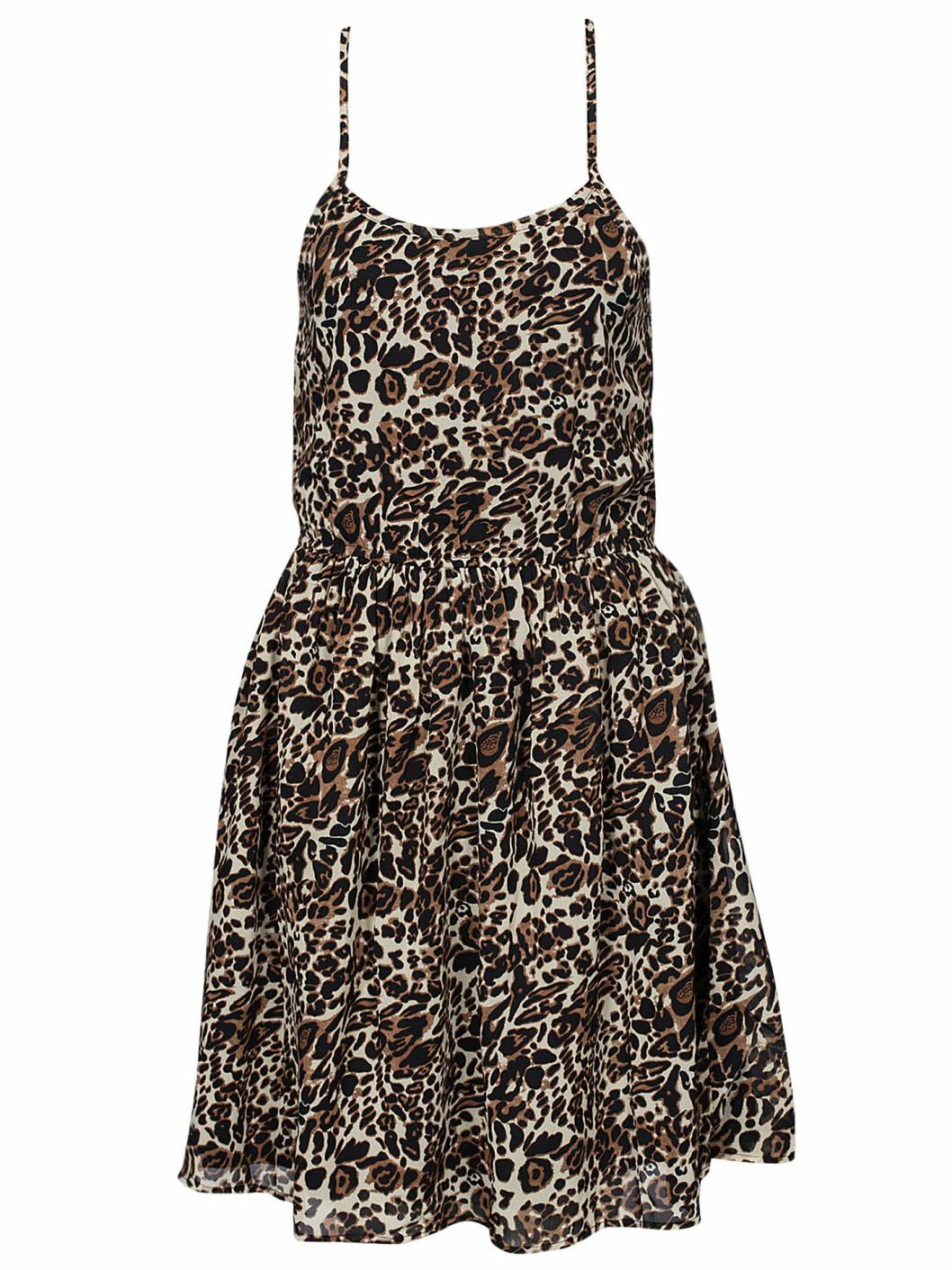 klänning leopard