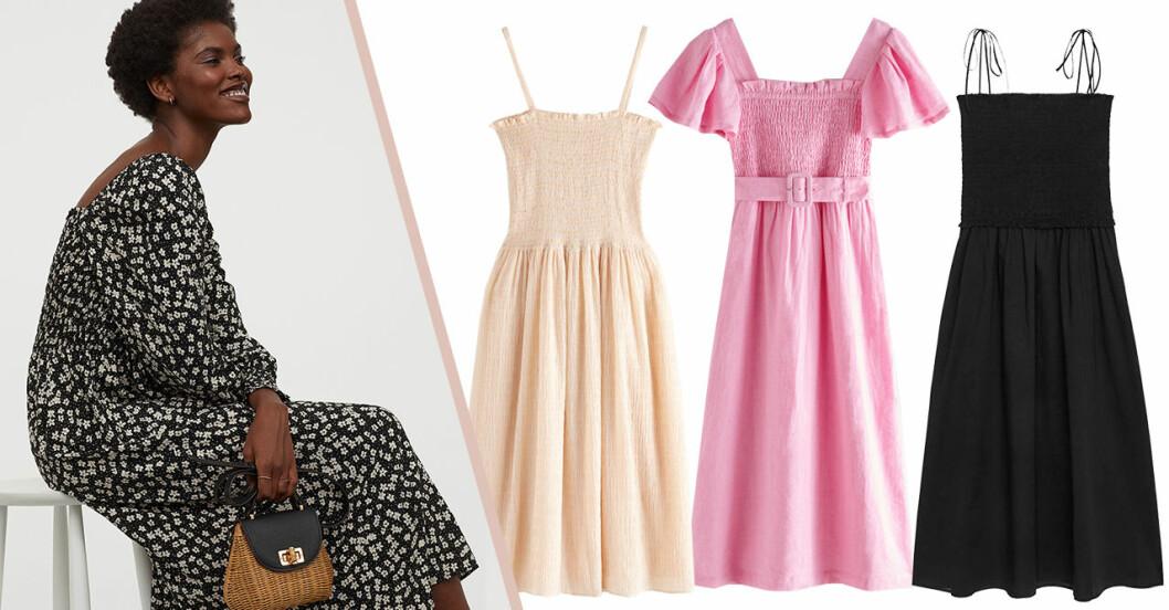 Klänning med smock: 12 riktigt fina köp i butik